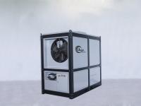 Transportventilator mit 9000 m3/h (LA 150P) bzw. mit 5000 m3/h (LA 50P) mit darunter aufgebautem Schaltkasten.