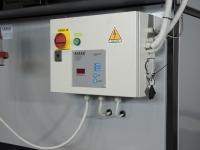 Schaltschrank ready to use der Scheitholzwarmluftheizungen