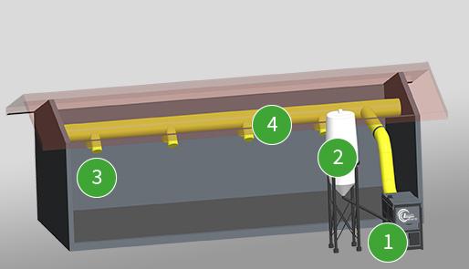 Top Hallenheizung | Trocknen und Heizen mit Biomasse › Warmluft #WS_82